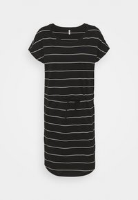 ONLY Tall - ONLMAY LIFE DRESS 2 PACK - Jerseykjole - black/thin stripe/black solid - 1
