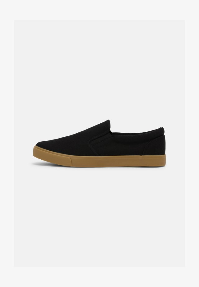 NATHAN - Trainers - black/gum