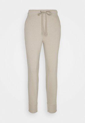 LOGO - Teplákové kalhoty - vintage khaki