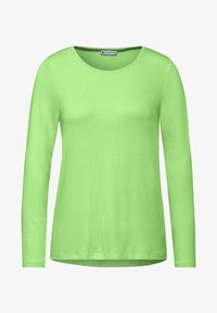 Street One - BASIC  - Long sleeved top - grün - 2
