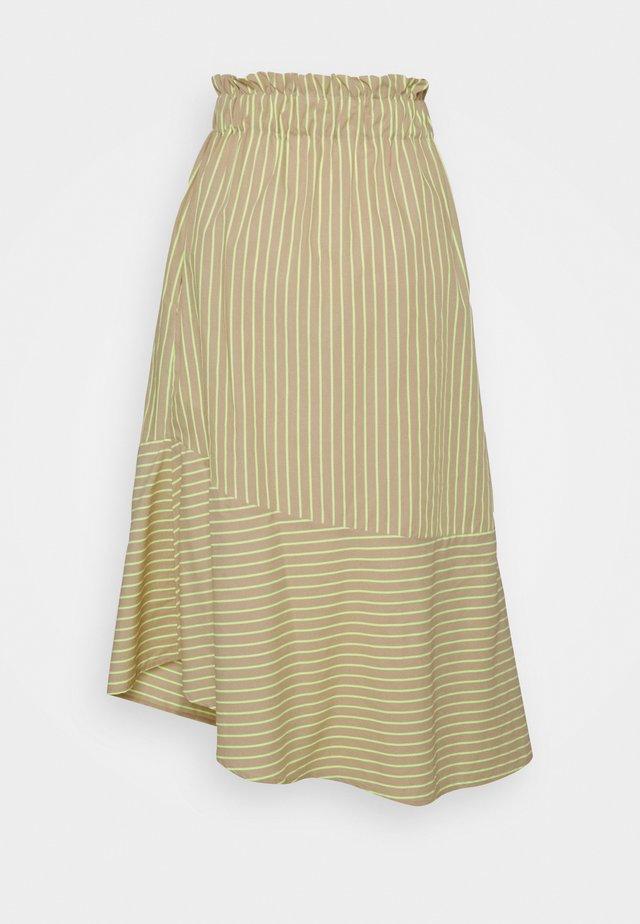 RARAY - Jupe longue - sand beige