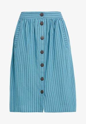 MAY - Áčková sukně - dark turquoise