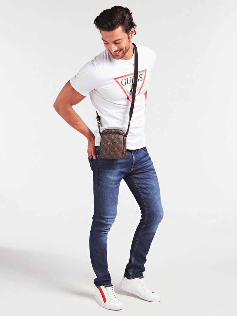 Guess - Across body bag - braun