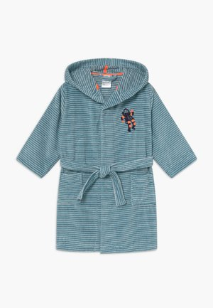 KIDS BATHROBE - Dressing gown - petrol