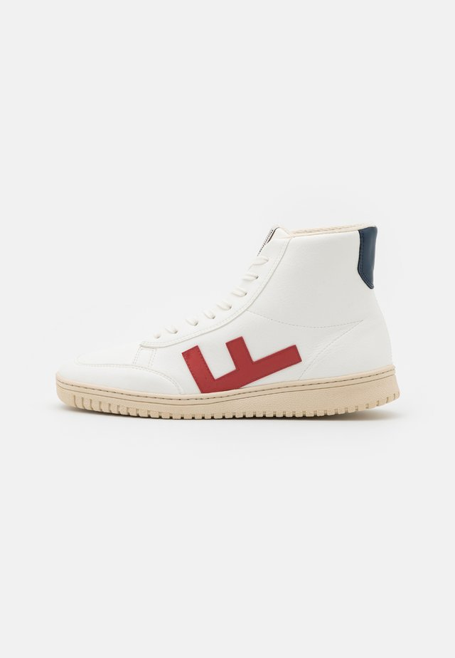 OLD 80'S UNISEX - Sneakersy wysokie - white/red