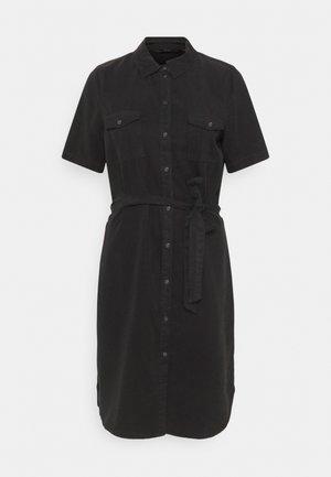 VMSILJA SHORT DRESS - Denim dress - black denim