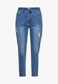 Sheego - Jeans baggy - blue denim - 4