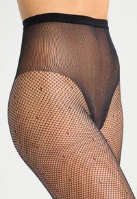 DIM - 65 DEN COLLANT SEXY SILLE PLUMETIS - Tights -  noir - 1
