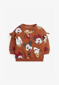 Next - MICKEY MOUSE - Sweatshirt - brown - 0