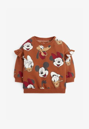 MICKEY MOUSE - Sweatshirt - brown