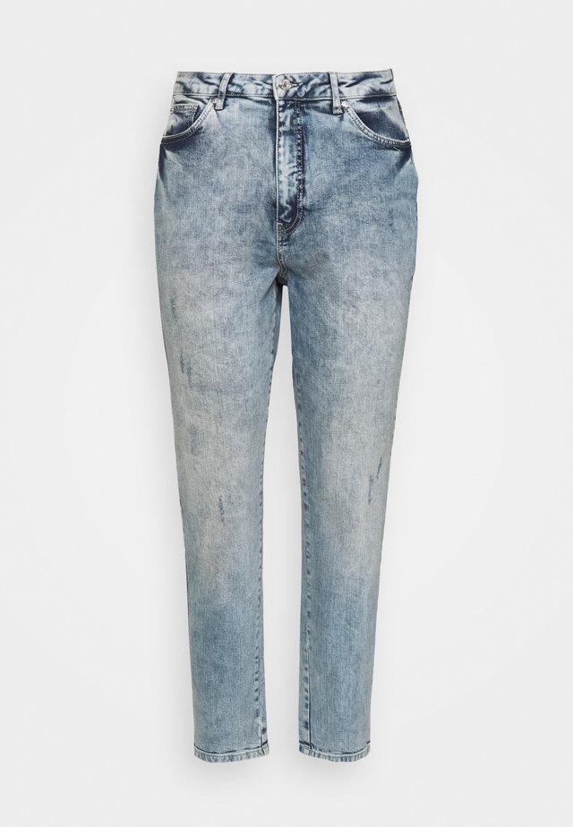VMVIBE MOM - Jeans a sigaretta - medium blue denim