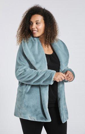 Winterjas - bluish green