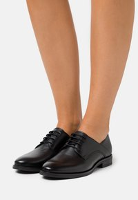 Anna Field - LEATHER - Lace-ups - black - 0