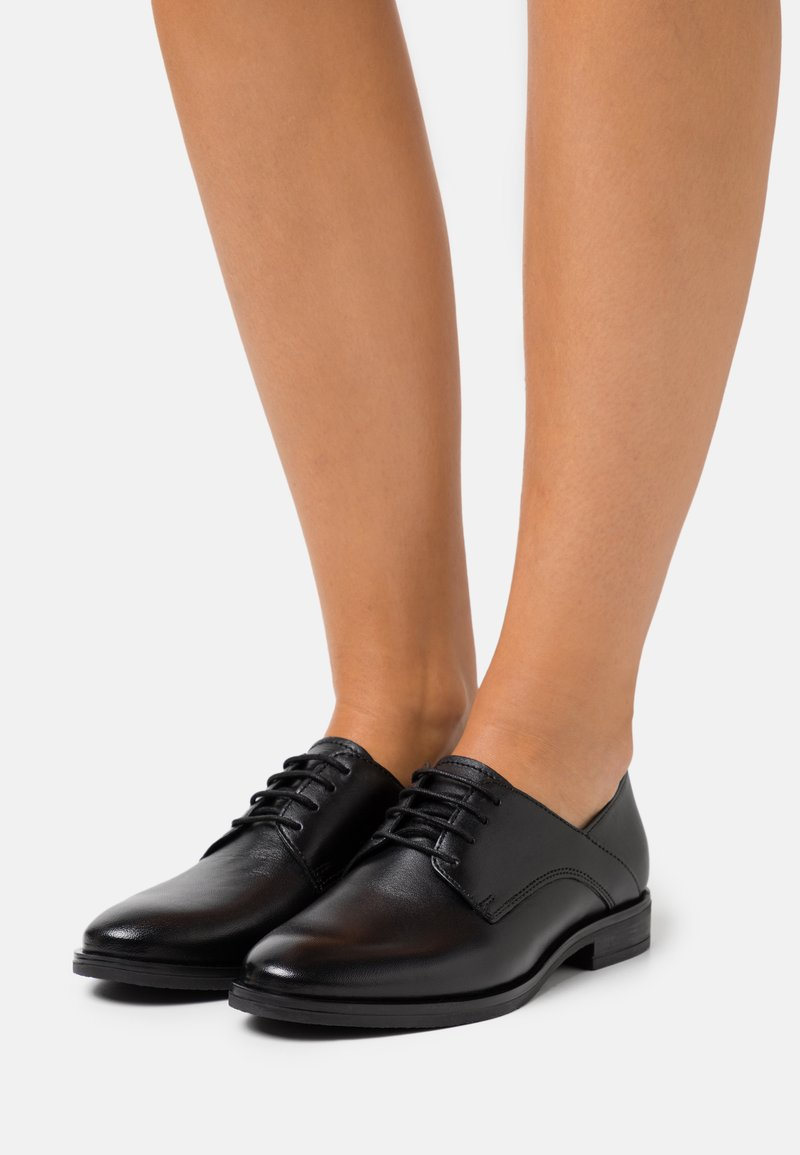Anna Field - LEATHER - Lace-ups - black