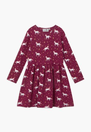 Robe en jersey - berry