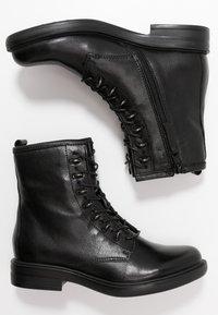 MJUS - Šněrovací kotníkové boty - nero - 3