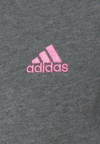 adidas Performance - Bluza rozpinana - dark grey heather/rose tone - 7