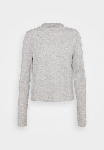 MOCKNECK - Jersey de punto - silver stone