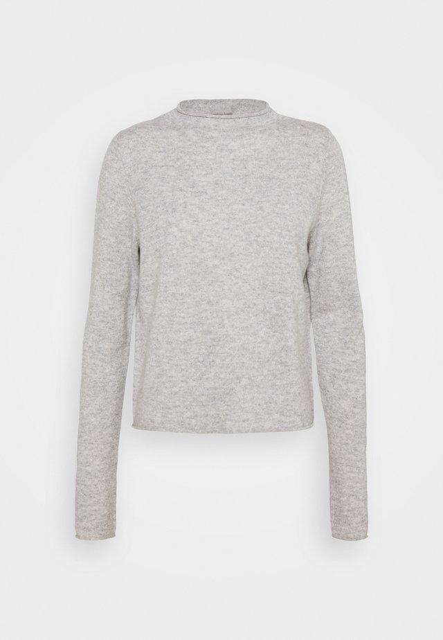 MOCKNECK - Sweter - silver stone