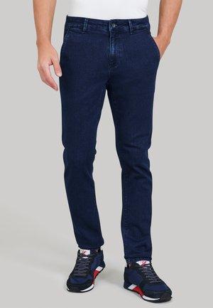 Slim fit jeans - denim dark wash