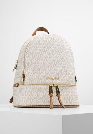 RHEA ZIP BACK PACK - Plecak - vanilla