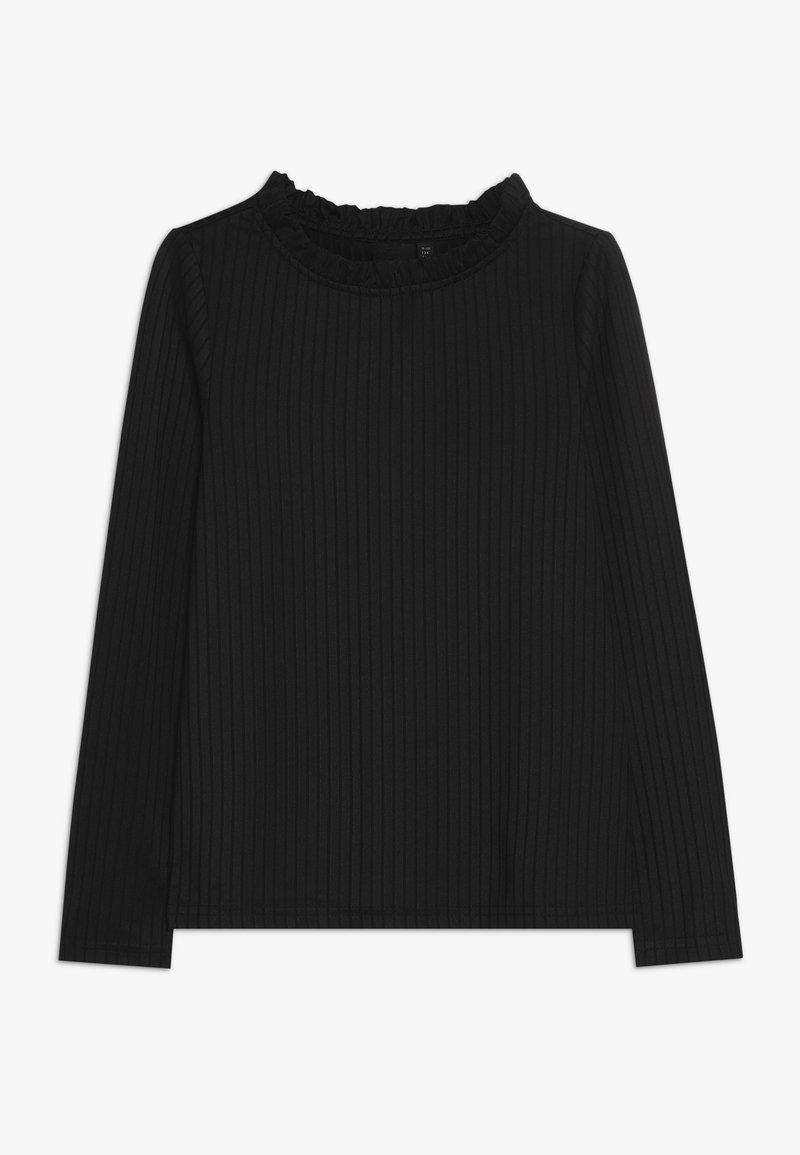 LMTD - NLFSALENE SLIM  - Pitkähihainen paita - black