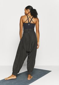 Free People - WADE AWAY HAREM - Pantalones - black - 2