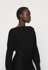 MAX&Co. - PROCIDA - Jumper dress - black - 4