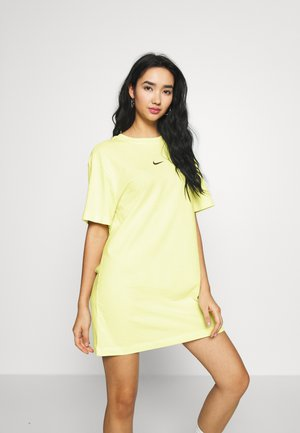 DRESS - Jerseyjurk - luminous green