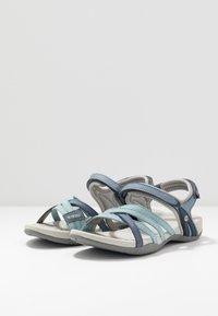 Hi-Tec - SAVANNA II  - Chodecké sandály - flinstone/charcoal/dusty blue - 2