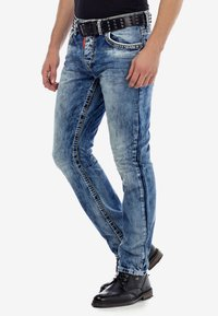Cipo & Baxx - Slim fit jeans - ijsblauw - 4