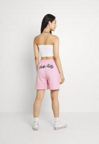 NEW girl ORDER - SLOGAN - Shorts - pink - 2
