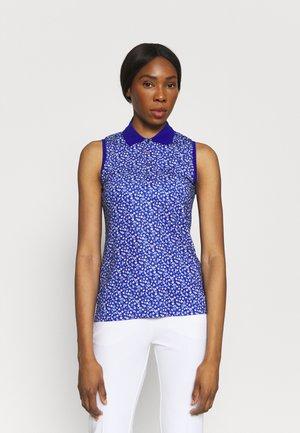 SLEEVELESS - Polo shirt - blue
