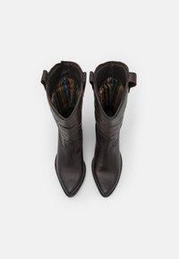 Felmini - WEST - Biker-/cowboysaappaat - brown - 5