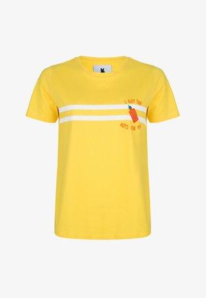 TSHIRTS I GOT THE HOTS FOR YOU - T-shirt print - yellow