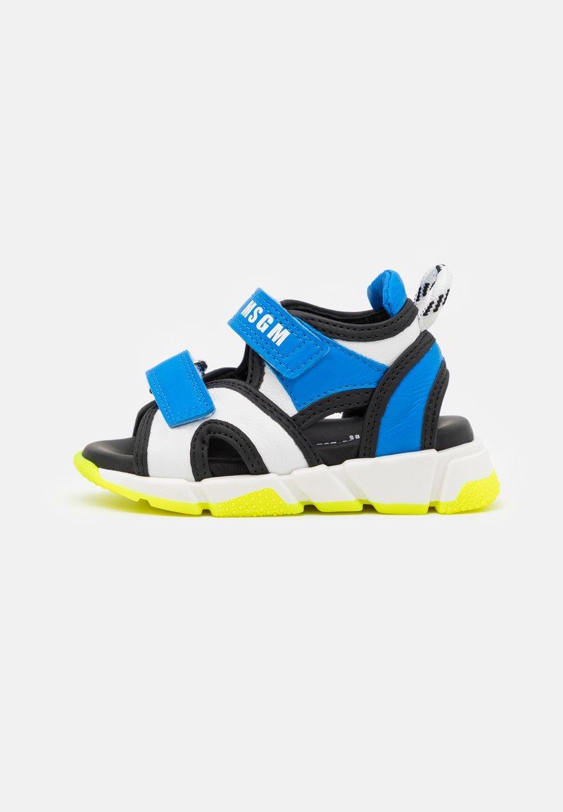 MSGM - UNISEX - Sandals - blue/white