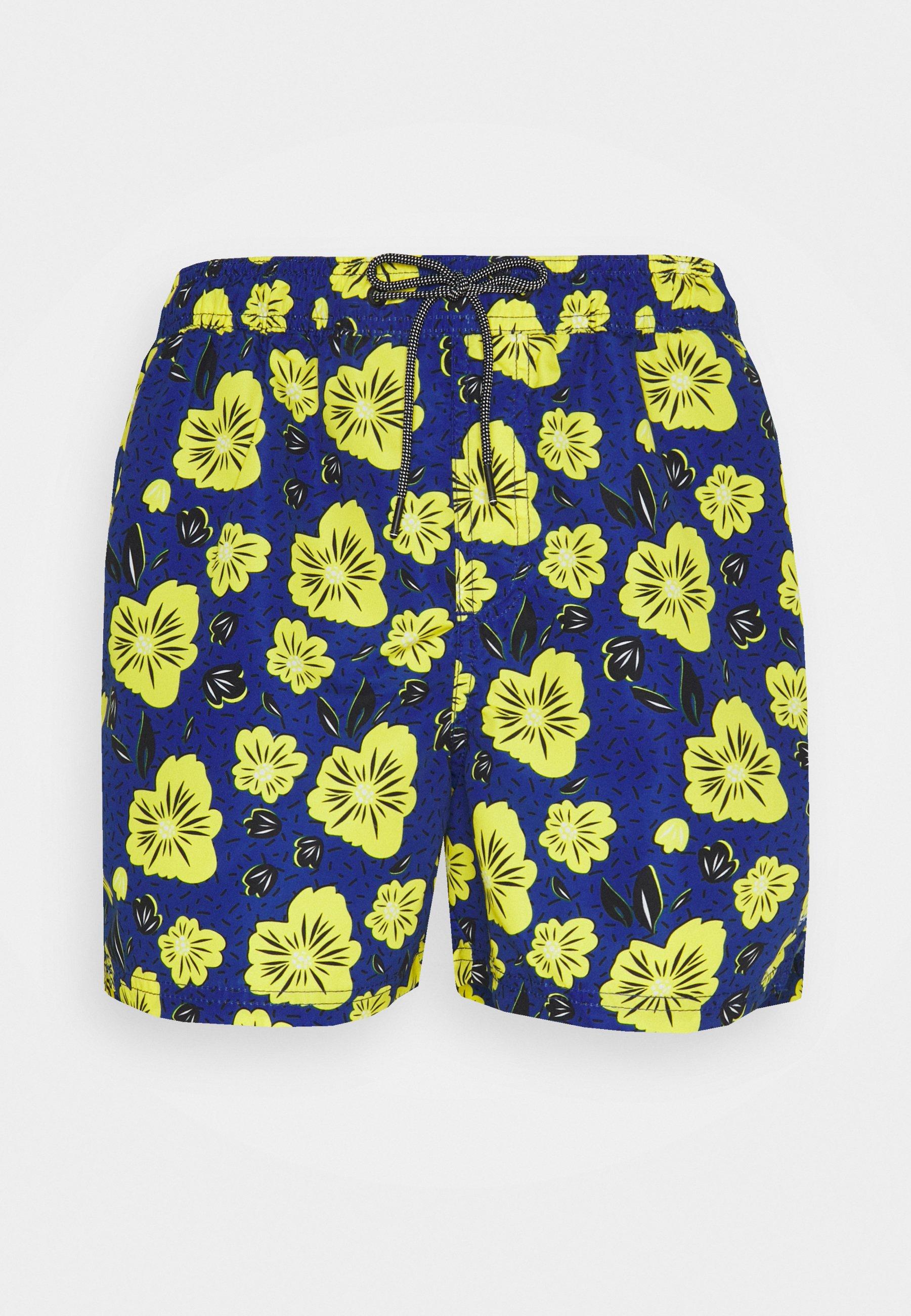 Men JJIBALI JJSWIMSHORTS DITSY FLOW - Swimming shorts