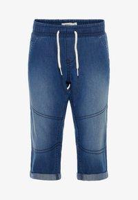Name it - Shorts vaqueros - dark blue denim - 0