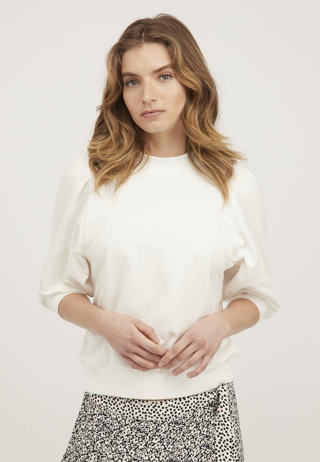 PUFF  - Sweatshirt - white