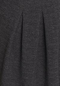 Esprit - JAQUARD DRESS - Jersey dress - anthracite - 2