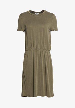 OBJANNIE MAXWELL DRESS  - Jerseykjole - burnt olive