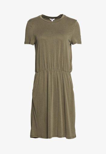 OBJANNIE MAXWELL DRESS  - Vestido ligero - burnt olive