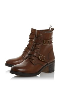 Dune London - Cowboy/biker ankle boot - orange - 3