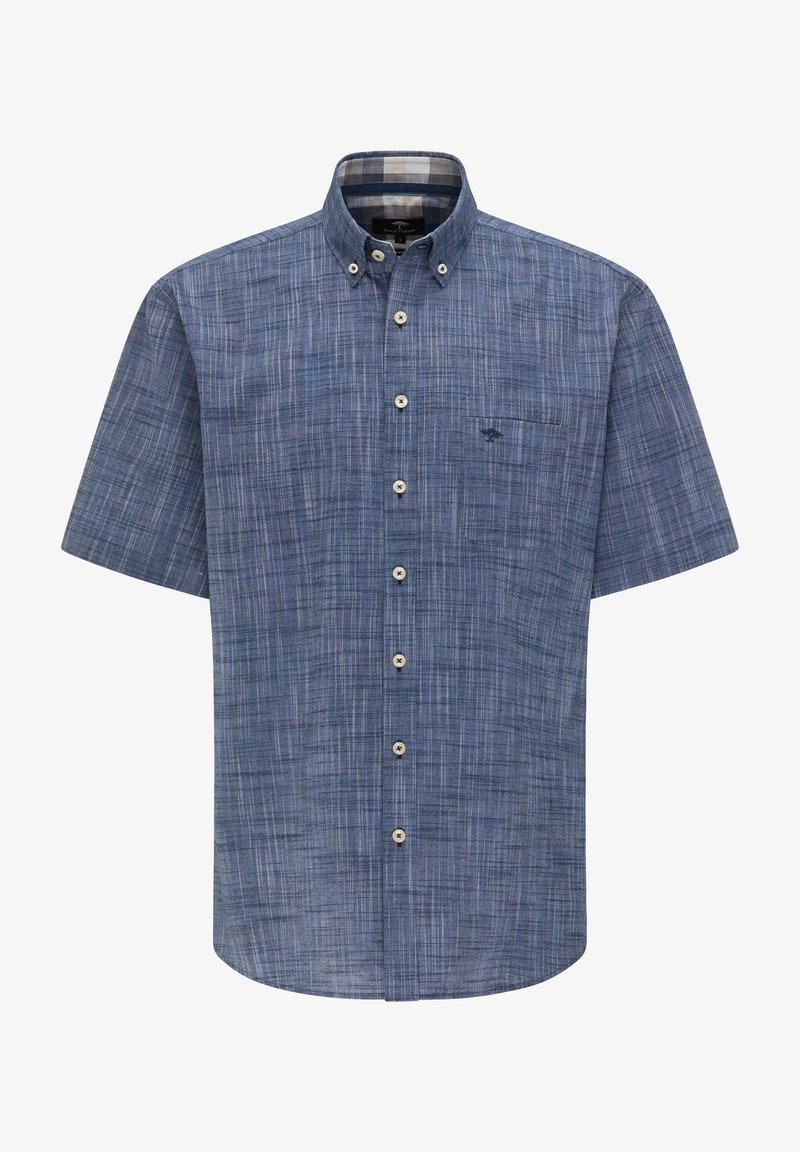 Fynch-Hatton - Shirt - solid navy
