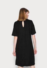 Marc O'Polo - DRESS SHORT SLEEVE - Day dress - black - 2