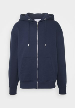 BASIC REGULAR FIT HOODIE - Hoodie - navy