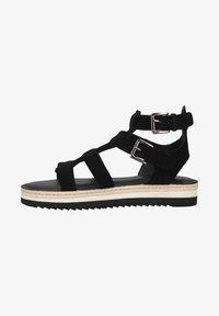 Sansibar Shoes - Sandalen met plateauzool - schwarz - 0
