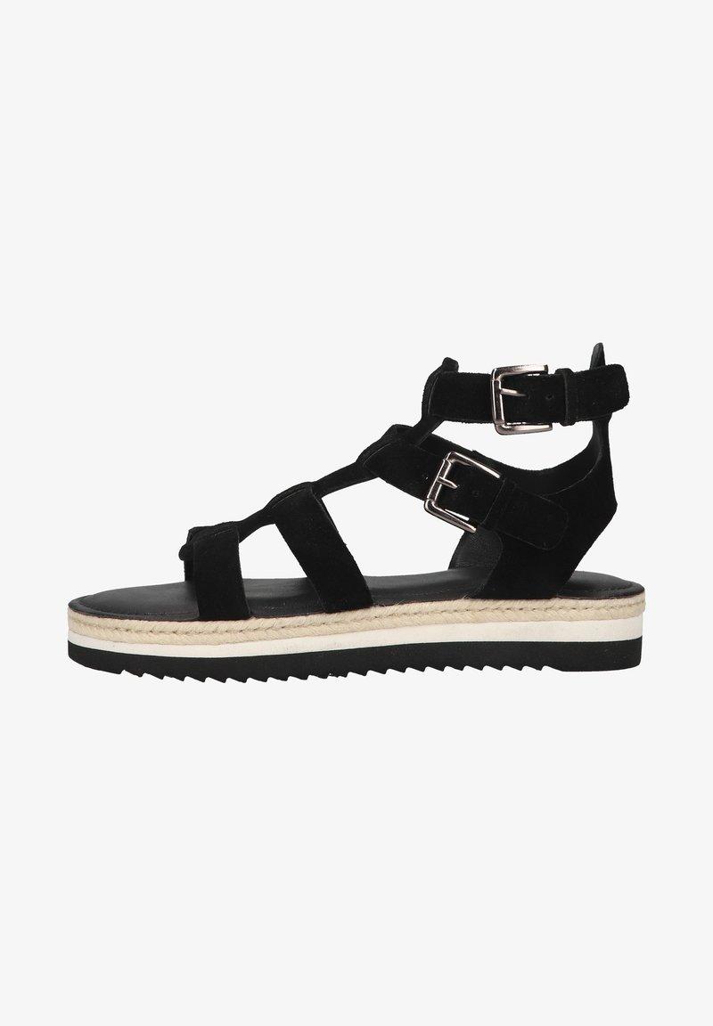 Sansibar Shoes - Sandalen met plateauzool - schwarz