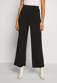ONLY - ONQGAIA WIDE PANT - Trousers - black - 0