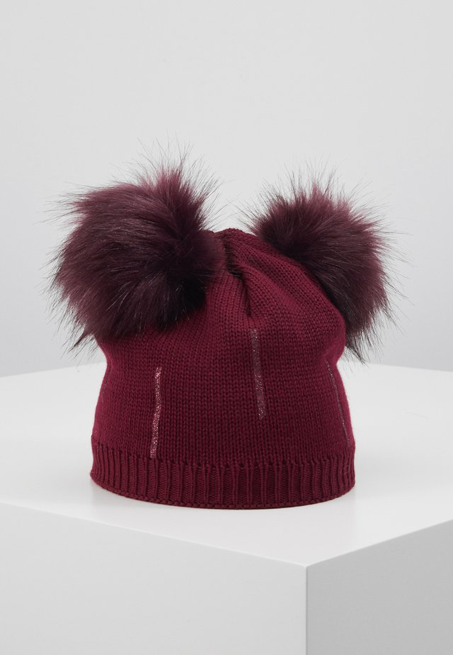 KIDS GIRL - Beanie - dark berry